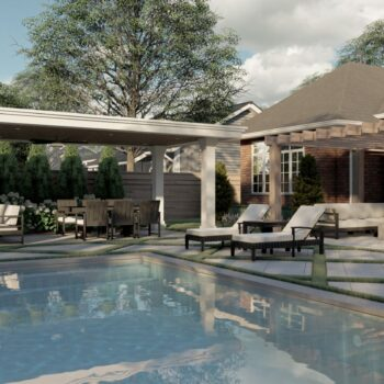 landscape design and build pool patio
