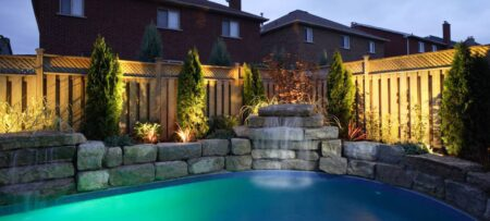 inground pool construction company project
