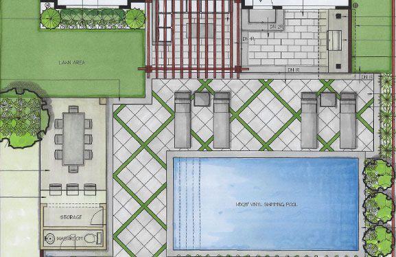 landscape design and build floorplan