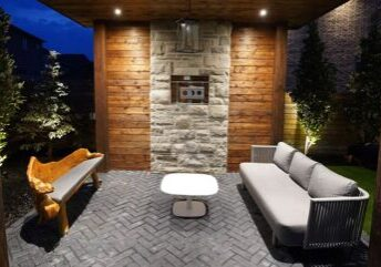 landscaping company in Mississauga building cabana